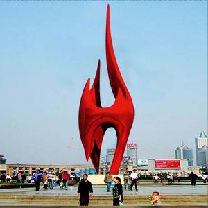 河北隆化广场雕塑